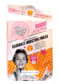 Soap & Glory Bright and Beautiful Sheet Mask Review cropped